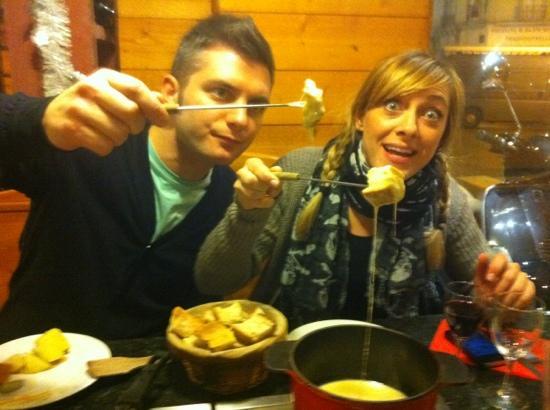 Les Fondus de la Raclette Jules Joffrin: fonduta!!