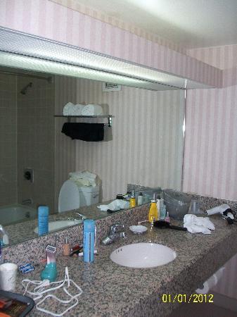 Howard Johnson Fullerton Anaheim Hotel and Conference Center: Bathroom