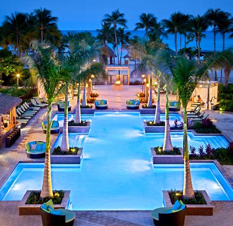 Aruba Marriott Resort & Stellaris Casino: Aruba Marriott's brand new adults-only pool H20asis