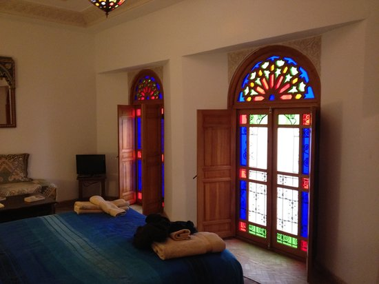 Riad Boustan: Great room