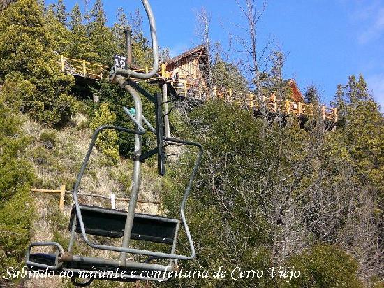 Parque Ecoturistico Cerro Viejo: Subindo aos mirantes do Cerro Viejo