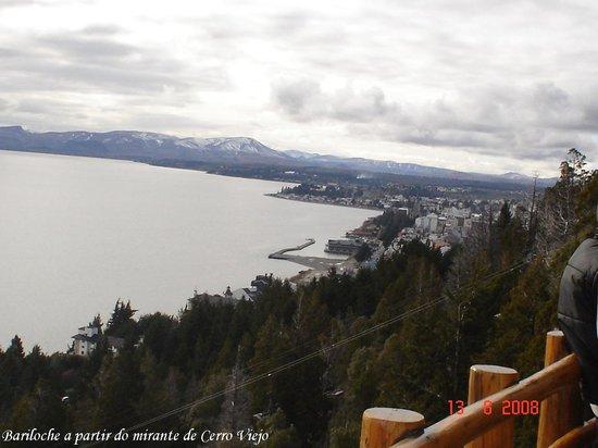 Parque Ecoturistico Cerro Viejo : Vista da cidade de Bariloche