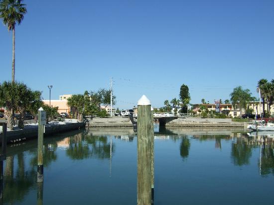Treasure Bay Resort & Marina: the marina at thr rear