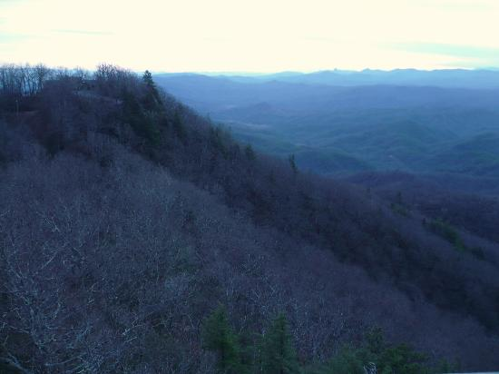 The Blowing Rock: Veiw from Blowing Rock