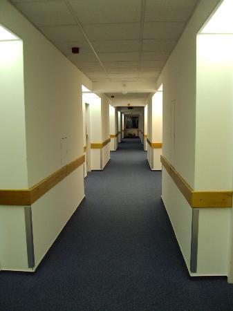 CEU Conference Center: a corridor