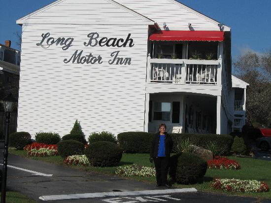 Long Beach Motor Inn: Pretty flowers