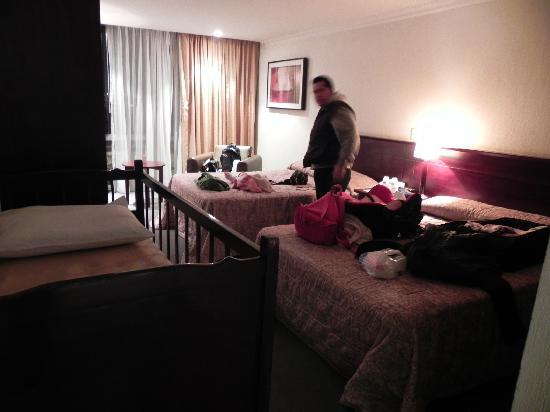 Hotel Panorama: de regreso a la habitacion