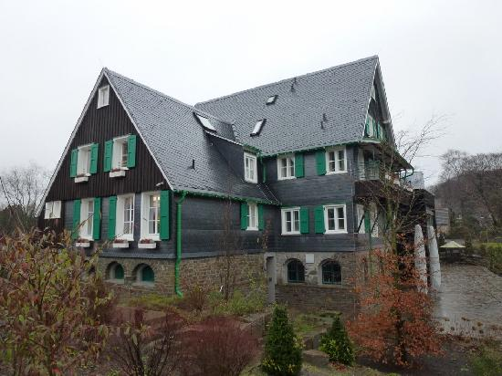 au enansicht picture of landhaus spatzenhof wermelskirchen tripadvisor. Black Bedroom Furniture Sets. Home Design Ideas