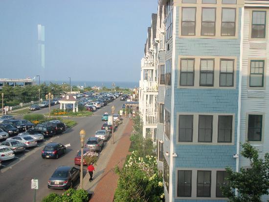 بونجالو هوتل: View from our Room