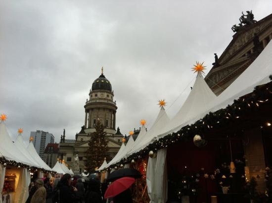 Berlin, Tyskland: christmas market