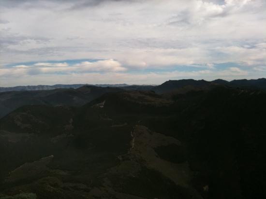 Valencia Peak Trail: east