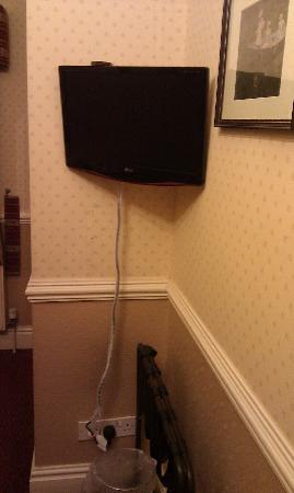 The Hatfield Hotel : Bedroom Television