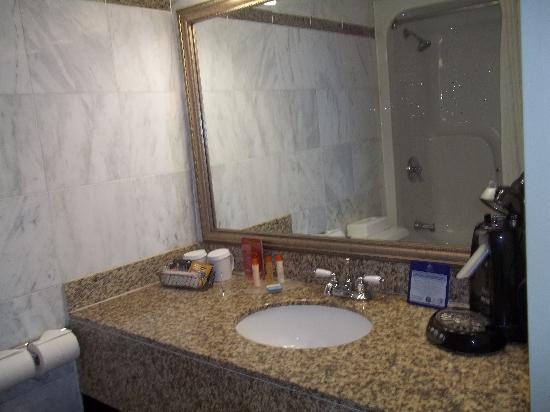 Best Western Plus Newark Airport West: Bathroom