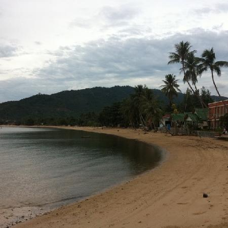 Blu' Beach Bungalows: View from the resort
