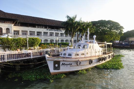 Brunton Boatyard: Hotel (riverfront)