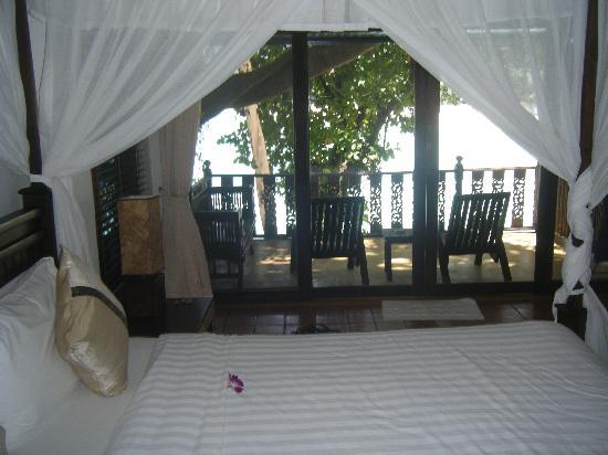 Villa Elisabeth: view from deluxe seaview room