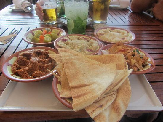 Barasti Beach Bar : My very tasty lunch.
