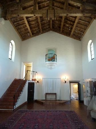Junipero Serra Museum: Inside the museum.  This is pretty much it.