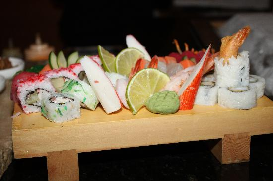 Sandals Grande Antigua Resort & Spa: The Sushi, the Sushi, the Sushi!!