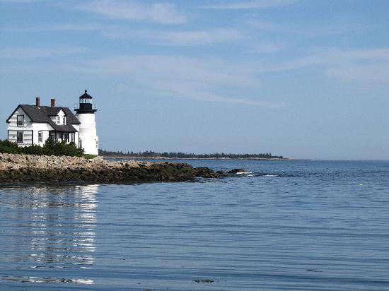 Holbrook House: Lighthouse on South Side of Island