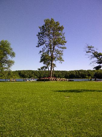 Kavanaugh's Resort: View of Lake from Cottage