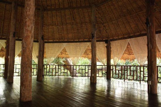 Kaomai Lanna Resort: yoga studio