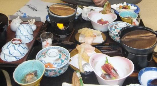 Higashiizu-cho, Japón: 夕食の写真