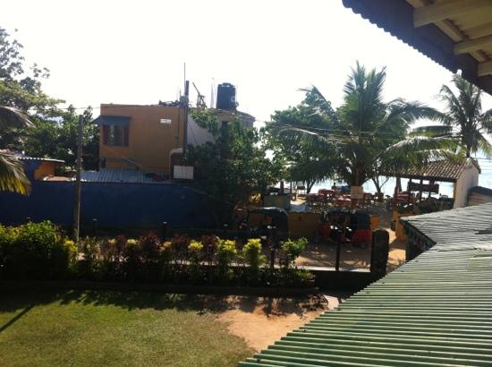 Seaview Deepal Villa: view from balcony