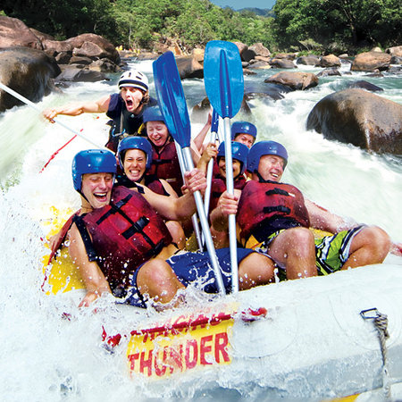 Raging Thunder White Water Rafting