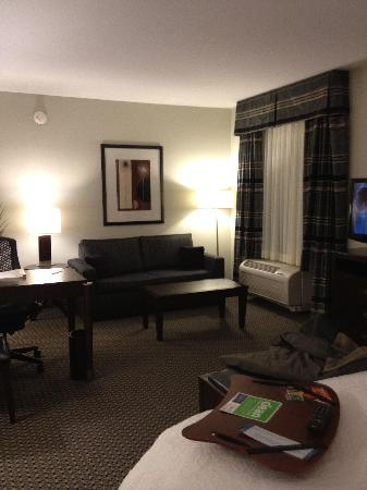 Hampton Inn & Suites Athens I-65: Looking at the sitting area