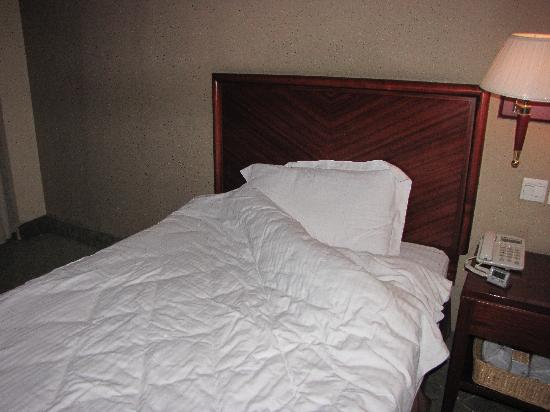 GreenTree Inn Luoyang Peony Square Business Hotel: Bed