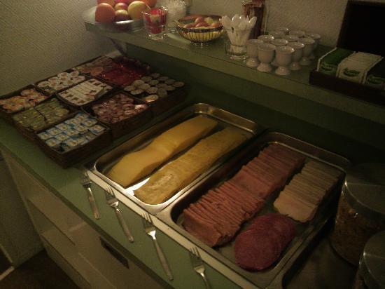 Singel Hotel Amsterdam: 朝食。