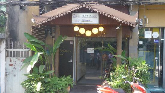 Hansaah: L'entrée du Hansaa