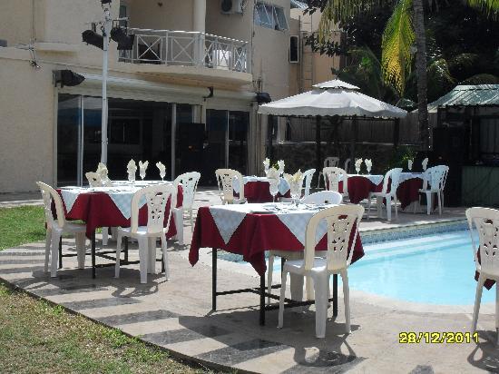 Manisa Hotel: cour du jeudi 29 décembre