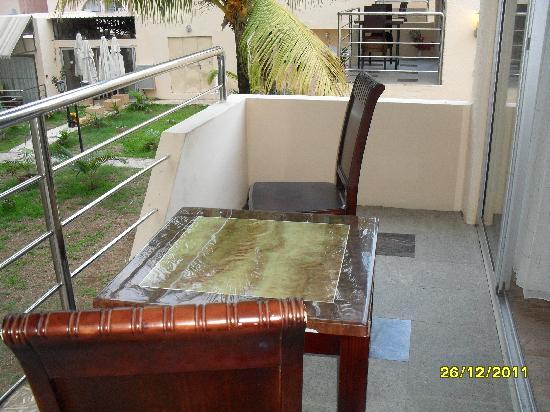 Manisa Hotel: terrasse chambre 501
