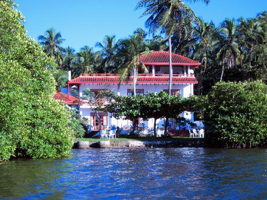 The Waterside Bentota: View from the boat