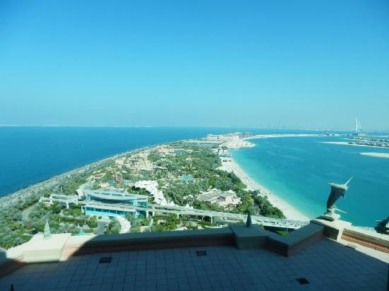 Atlantis, The Palm: An Arial View