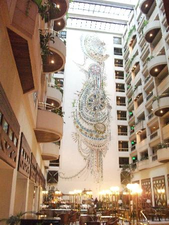 LAICO Regency Hotel: View from the Atrium