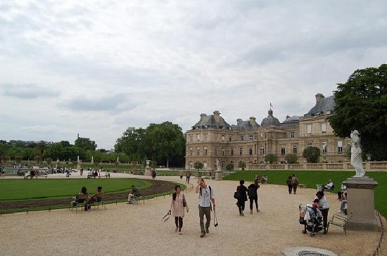 Palais And Jardin Du Luxembourg Picture Of Luxembourg Gardens