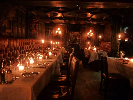 Restaurants in Edinburgh Luxury Dining   The Witchery