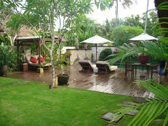 Belmond Jimbaran Puri: deluxe pool villa