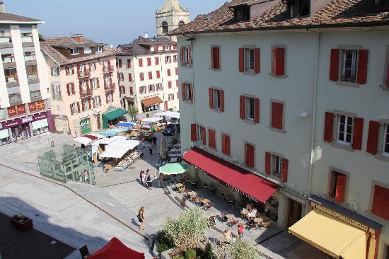 Hotel de France : vista desde habitación