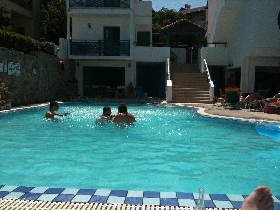 Mika Villas: Main Pool