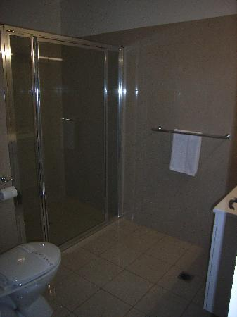 Red Earth Motel: Bathroom