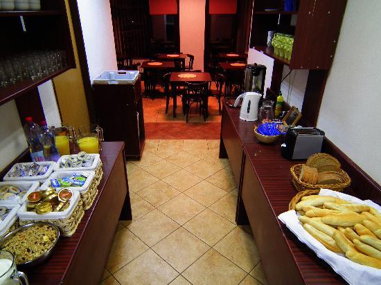 Hotel Prokopka: Super breakfast gratuit