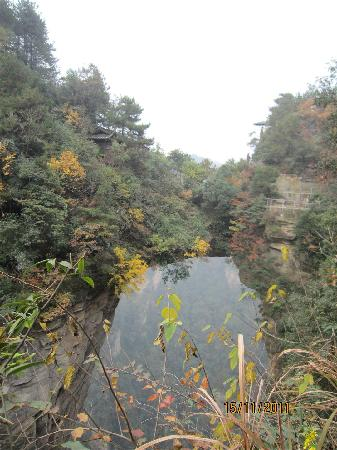 Wulingyuan Scenic and Historic Interest Area of Zhangjiajie: First Bridge in the world