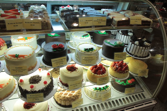 Seasonal Cake selection Picture of Zaros Bread Basket New York