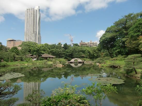 Hiroshima, Japan: la città vista dal parco
