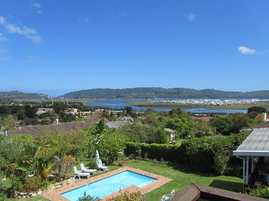 Footprints of Knysna: view out of the  window