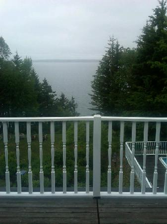 Inn at Bay Ledge: View from room/private balcony